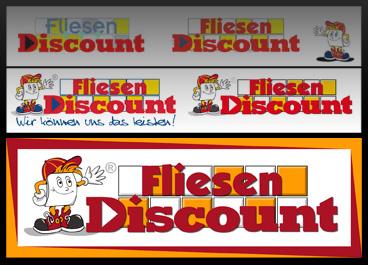 Fliesen discount  Logo-Redesign und Corporate Design | Showcase Fliesen Discount ...